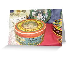 When Biscuits Came In Tins Greeting Card
