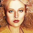 Virginia Madsen Color Pencil @ www.KeithMcDowellArtist.com   by  Keith McDowell, Artist