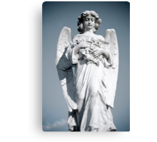 Grieving Angel Canvas Print