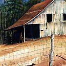 Greek Barn @ www.KeithMcDowellArtist.com  by  Keith McDowell, Artist