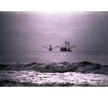 Shrimpboats  Photographic Print
