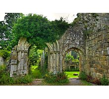 Ruined Doorway Photographic Print
