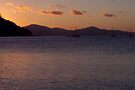 Sundown on Whitsundays by Werner Padarin