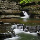 Buttermilk Falls by marilynwood