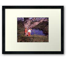 The Travellers Framed Print