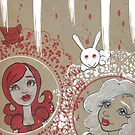 REd and White Lolitas by Erica Rosario