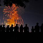 4th with friends by finnsfotos