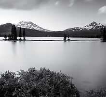 Long Exposure on Sparks Lake. Bend, OR  by Travis Ingle
