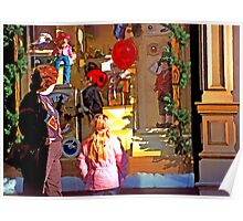 Christmas Window Display - 508 views Poster