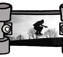 Art of Skateboarding Banner by Pip Gerard