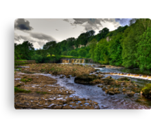 Wainwath Force - Keld 1 of 5 Canvas Print