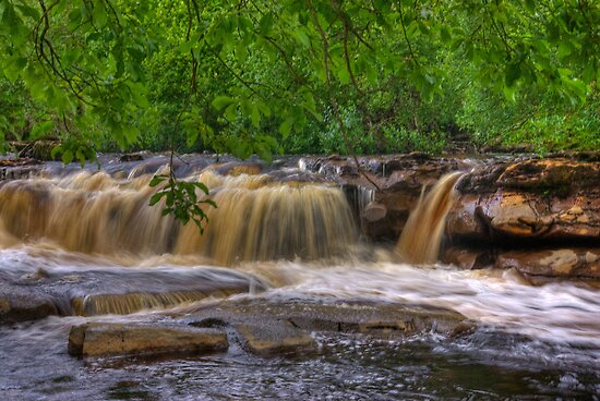 Wainwath Force - Keld  3 of 5 by Trevor Kersley
