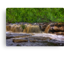 Wainwath Force - Keld  3 of 5 Canvas Print