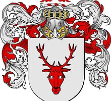 Ziegler Coat of Arms / Ziegler Family Crest by coatofarms