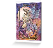 Tailed Pixie Greeting Card