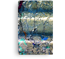 Alluminum In Abstract  Canvas Print