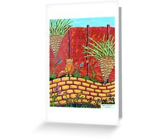263 - THE QUIET CORNER - DAVE EDWARDS - COLOURED PENCILS - 2009 Greeting Card