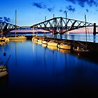 Queensferry Harbour at Dawn by David Queenan