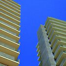 Buildings Under a Blue Sky by Allison Aboud