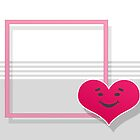 Love Hearts Card or Background by regidesigns