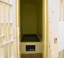 Protective Custody Cell, Cornwall Jail, Cornwall, Ontario by Mike Oxley