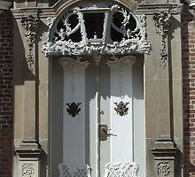 Old door, Toender, Denmark by Tove