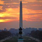D.C. City Sunset by Heather Short
