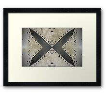 Aviation abstract Framed Print