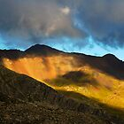 Light storm in mountain by patrick pichard