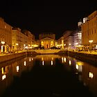 Canal Grande in Trieste by Rasevic