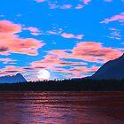 Talus Lake Sunset by David Jackson