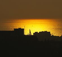 Sundown in Trieste by Rasevic