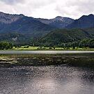 Lake and Mountains by Daidalos