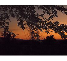 Thursday Sunset Photographic Print