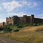 Bamburgh Castle by Tasha  Blackmore