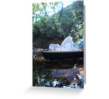 Alice is Dreaming Greeting Card