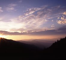 Smoky Mountain Daybreak by William C. Gladish