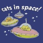 Space cats by Bloomin'  Arty Tees