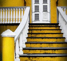 Yellow Doorway by SLRphotography