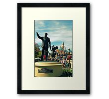 Happiest Place on Earth  Framed Print