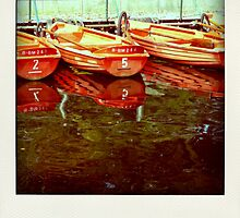 Boats... by polaroids