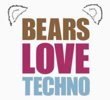 Bears Love Techno by andyc50
