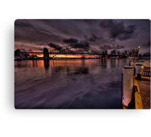 Magical Morn - Moods Of A City  - The HDR Experience Canvas Print