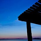 Blue Sky Roof by Kana Photography