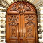 Spiritual door by KERES Jasminka