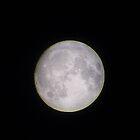 The moon seen from the Netherlands 1 by Sebastiaan Koenen