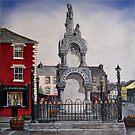 """Kilrush Town Centre"" - Oil Painting by Avril Brand"