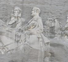 Stone Mountain carving by Satya-Seer