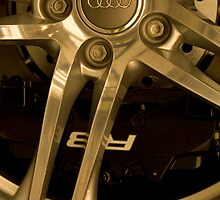 Audi R8 Wheel  by samrossimages