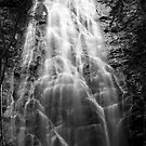 B&amp;W Crabtree falls by Forrest Tainio
